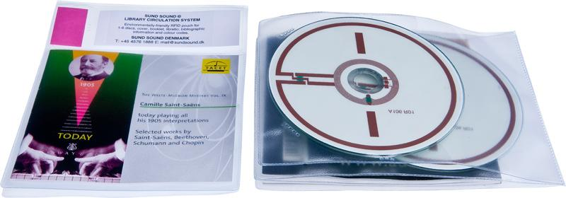 Lomme RFID 2 CD og Cover, 85 stk.