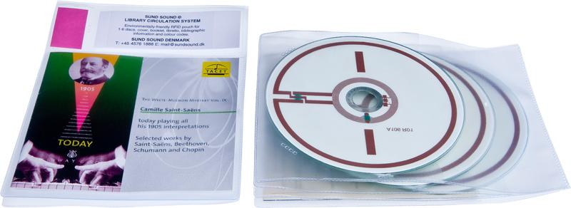 Lomme RFID 3 CD og Cover, 70 stk.