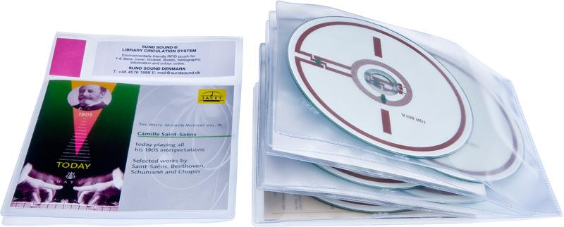 Lomme RFID 5 CD og Cover, 40 stk.