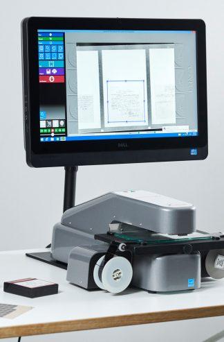 Mikrofilmscannere