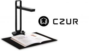 Bokscanner fra CZUR